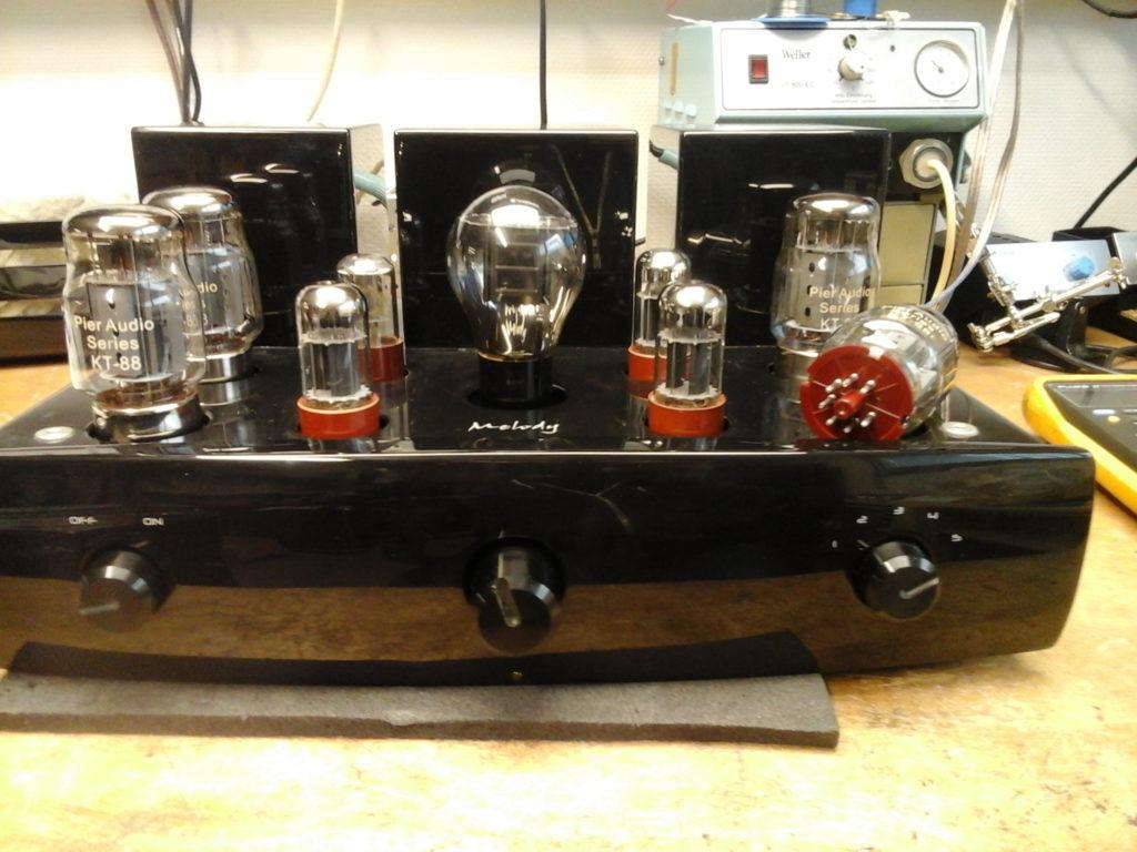 Ampli HIFI Melody tout lampes réparation