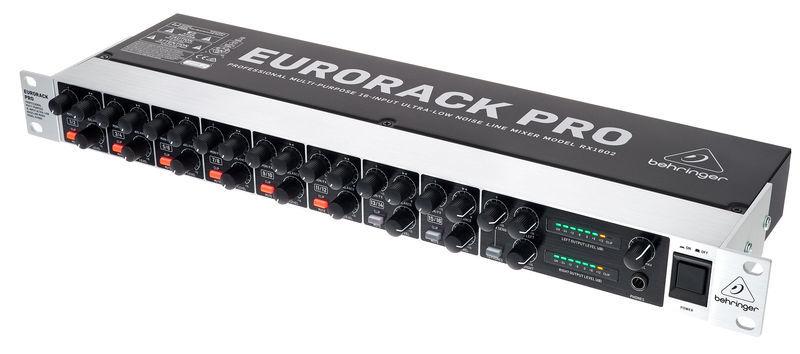 Behringer Eurorack Pro RX1602 ampli casque_location