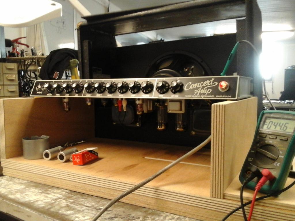 Fender Concert réparation