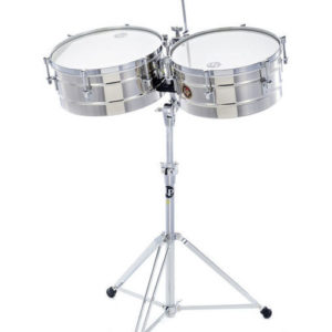 Latin Percussion Timbales Tito Puente 14″ et 15″_location