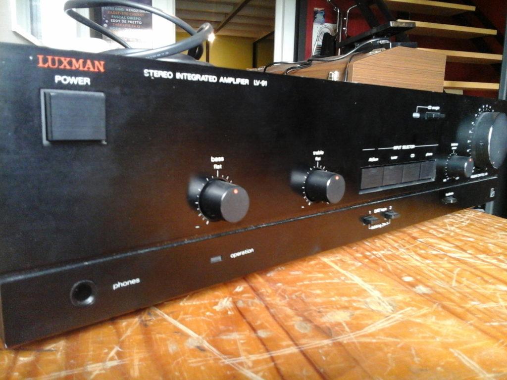 Luxman_LV91_réparation