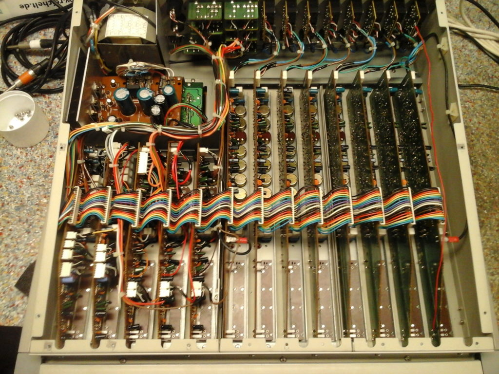 Philips Audio Mixer console analogique réparation