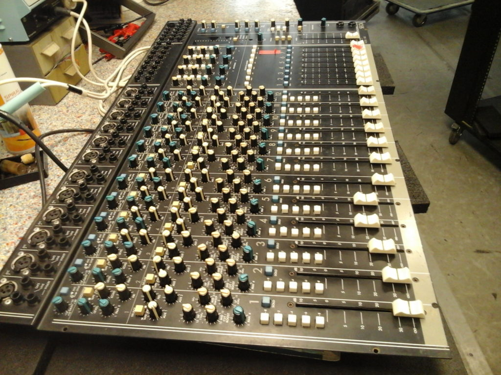 Console SECK 1282 réparation