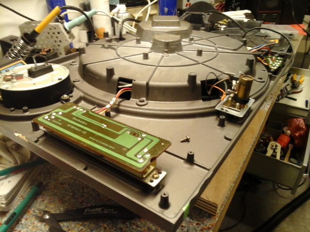 Platine Technics SL1210MKII réparation