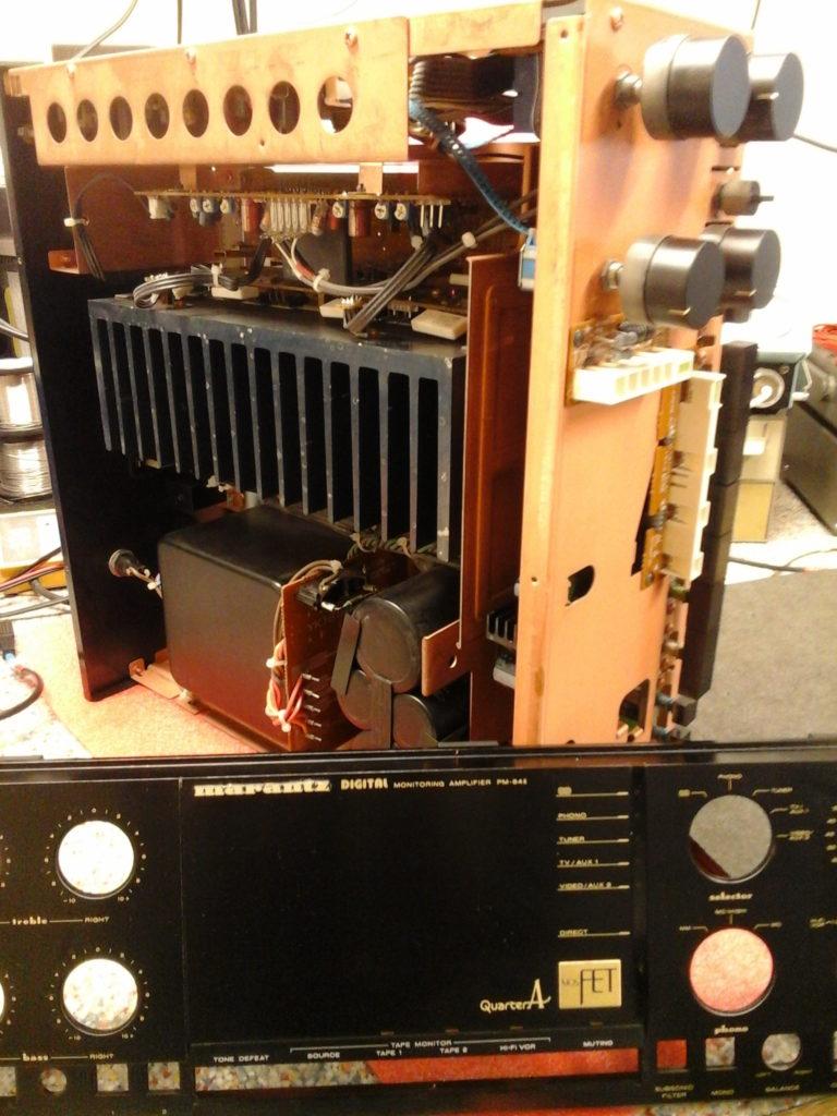 Ampli Marrantz PM84 MKII réparation