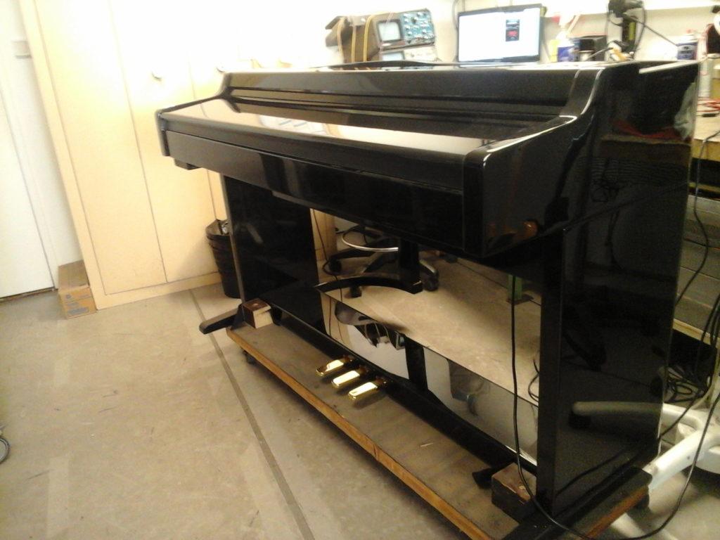 Piano électrique Colmann concerto_réparation